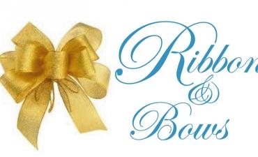โบว์สำเร็จ ติดกระเช้า : Ribbon Bows for presents